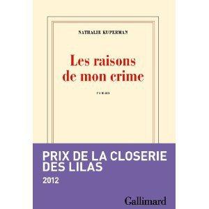 Critique – Les raisons de mon crime – Nathalie Kuperman