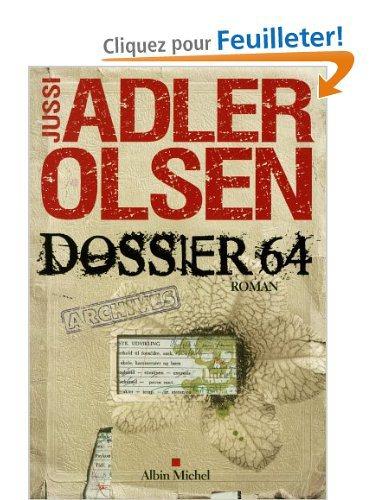 Critique – Dossier 64 – Jussi Adler Olsen