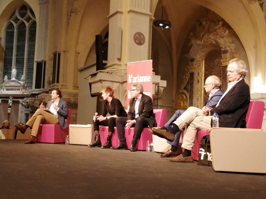 13 mars 2019. Débat organisé par l'hebdomadaire Marianne: Les journalistes sont-ils coupables de la crise de la démocratie?