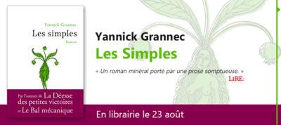 Critique – Les simples – Yannick Grannec – Anne Carrière