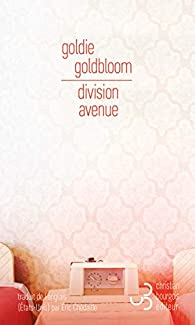 Critique – Division Avenue – Goldie Goldbloom – Christian Bourgois