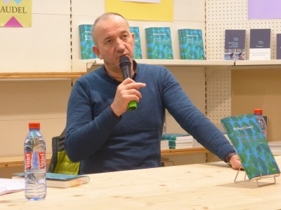 Philippe Claudel à la Librairie Nouvelle d'Orléans