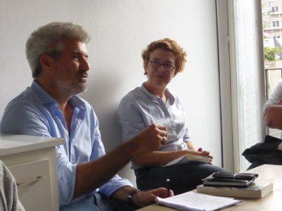 Laurent Gaudé à la librairie Les Temps Modernes à Orléans le 20 septembre 2016