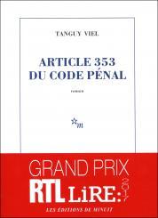 Critique – Article 353 du code pénal – Tanguy Viel – Minuit