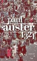 Critique – 4 3 2 1 – Paul Auster – Actes Sud