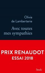 Critique – Avec toutes mes sympathies – Olivia de Lamberterie – Stock