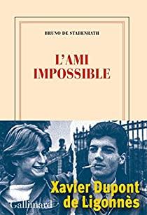 Critique – L'ami impossible – Bruno de Stabenrath – Gallimard